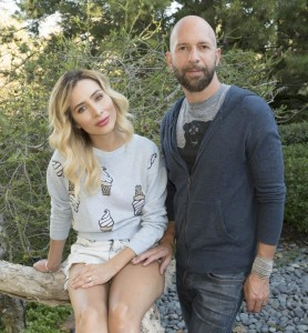 Neil strauss with wife Ingrid